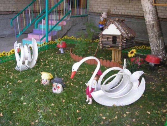 Озеленение площадки детского сада своими руками