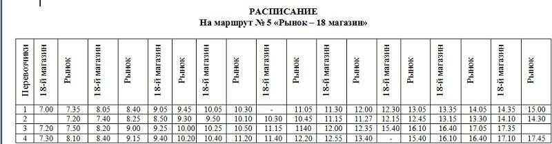 Расписание автобусов михайловское знаю
